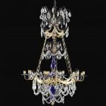Lampkronan med det koboltblå glaset från Anna-Stinas lägenhet