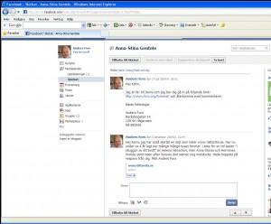 facebook - ursing rask